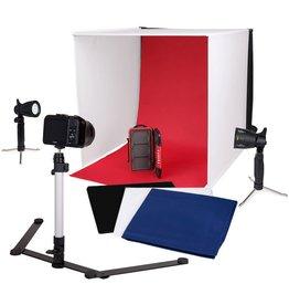 Caruba Caruba Portable Fotostudio met losse LED lampen 60x60x60cm