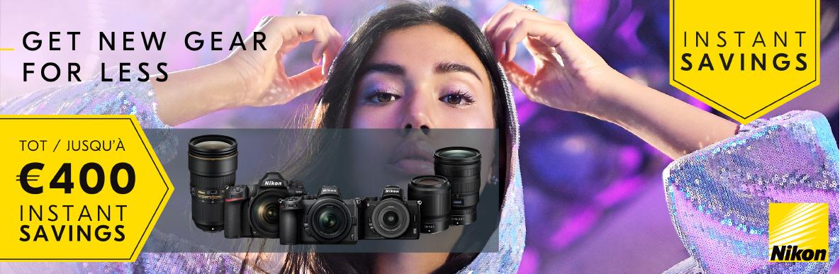 Nikon Winter Instant Savings promotie