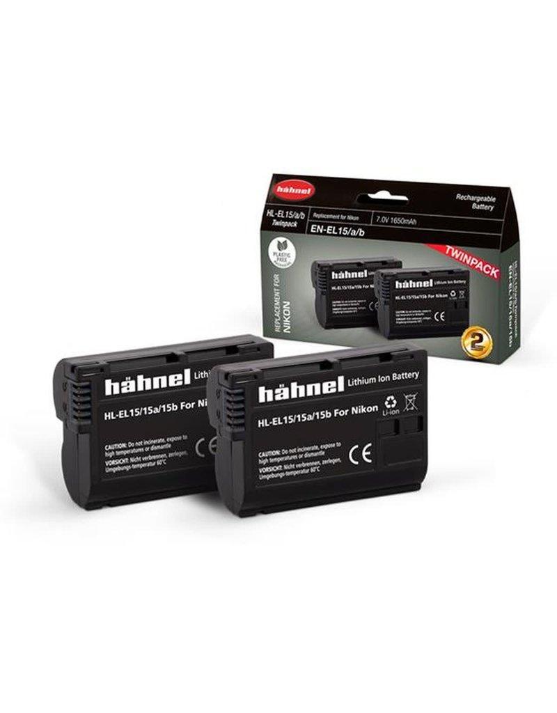 Hahnel Hahnel HL-EL15HP Nikon Type Twinpack