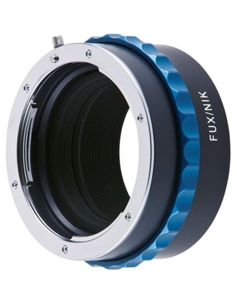 Novoflex Novoflex adapter Nikon naar Fuji X camera