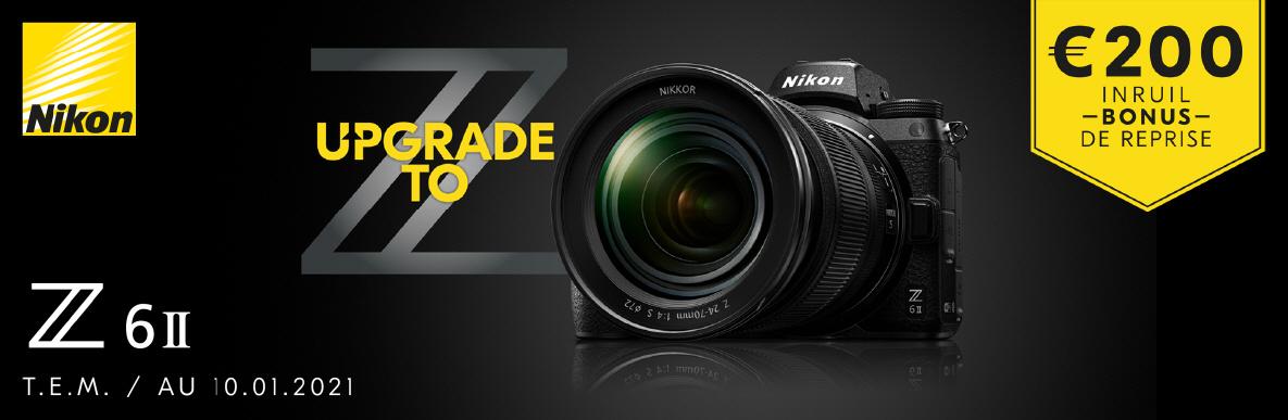 Nikon Z6II inruil korting