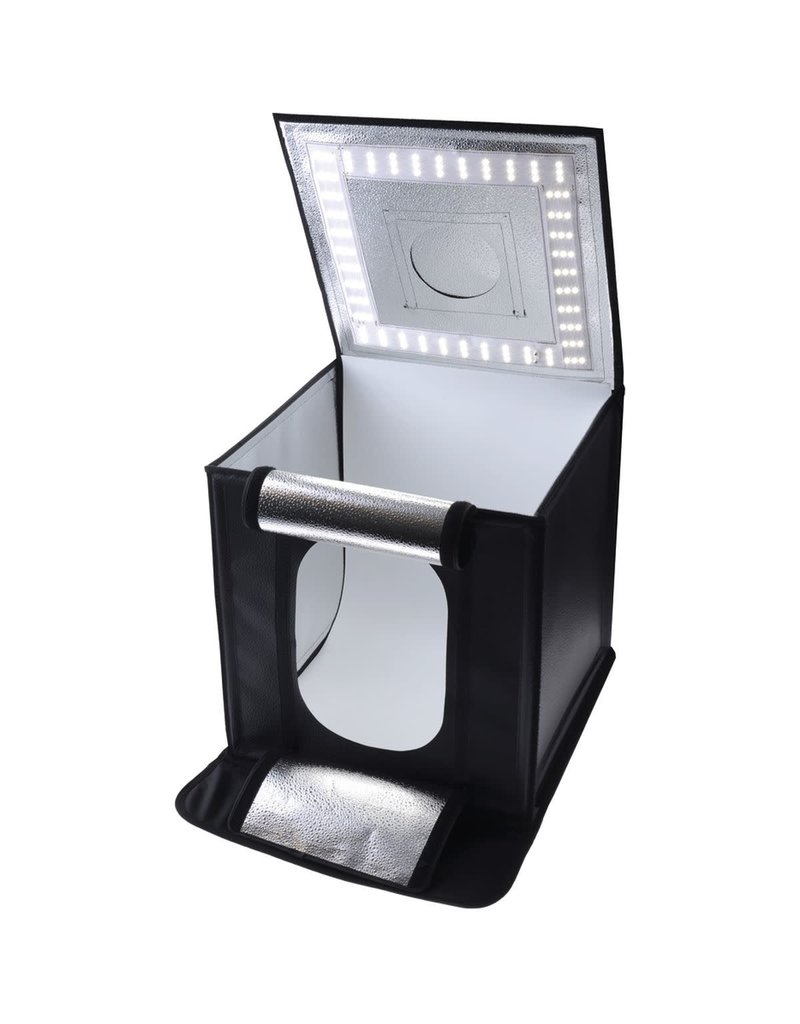 Caruba Caruba Portable Photocube LED 50x50x50cm Dimbaar