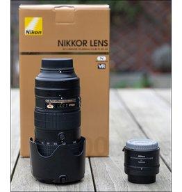 Nikon 2dehands Nikon AF-S 70-200mm/F2.8E FL ED VR