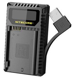 Nitecore Nitecore UNK2 Compacte Dubbel Lader voor Nikon EN-EL15 + USB