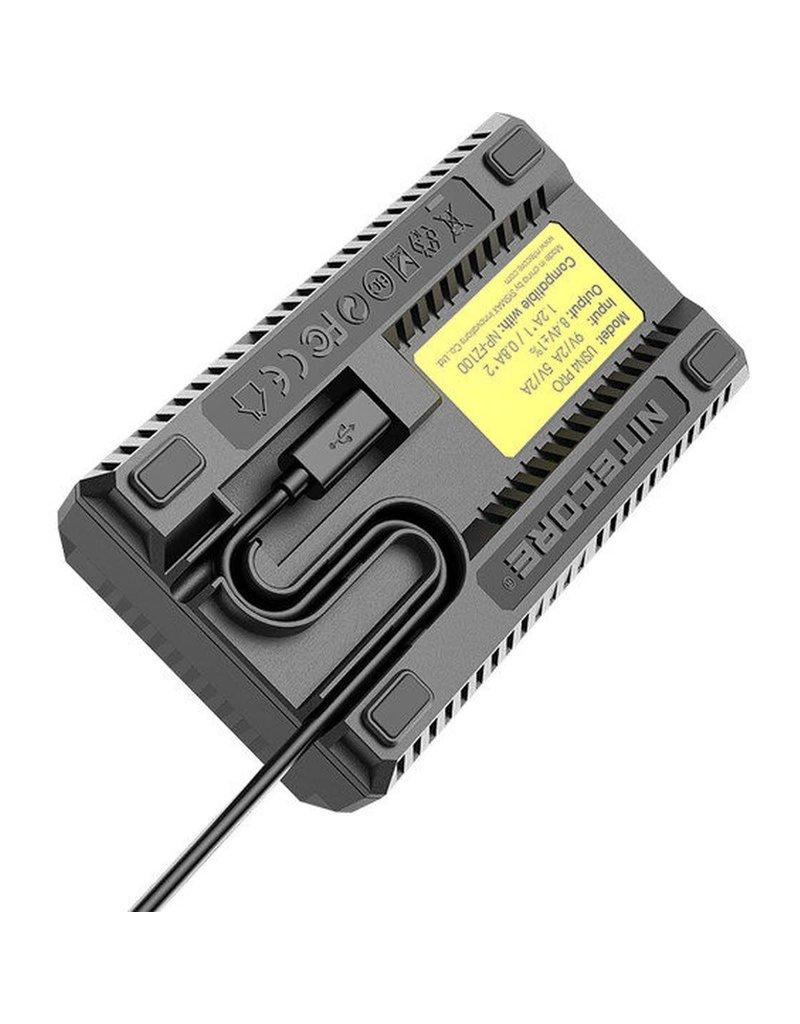 Nitecore Nitecore USN4 Pro Dubbel Lader voor Sony NP-FZ100