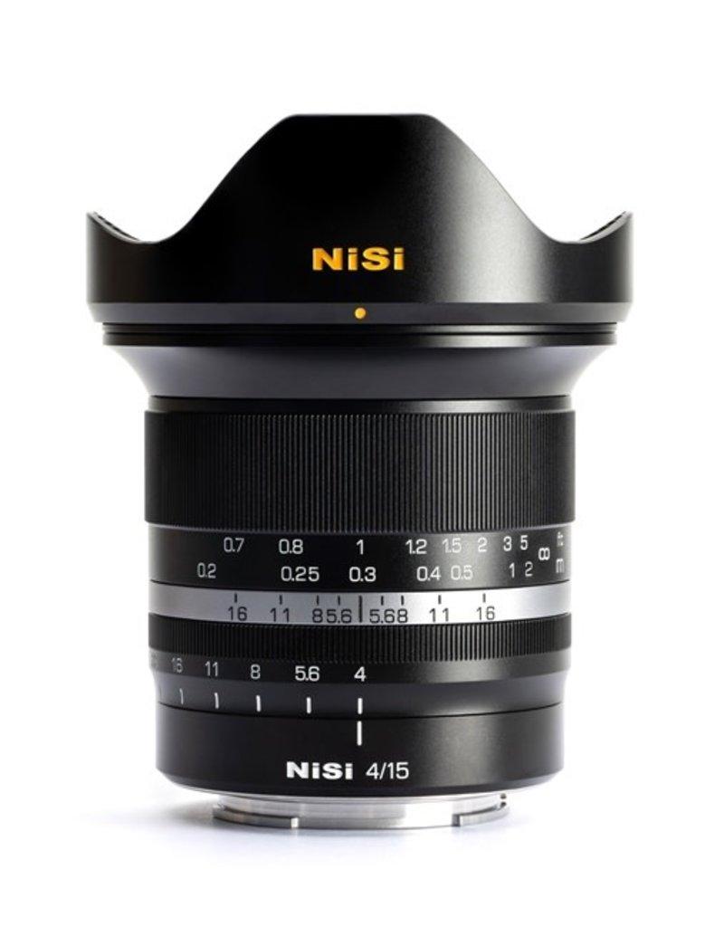Nisi NiSi MF 15mm F4.0 ASPH. Nikon Z