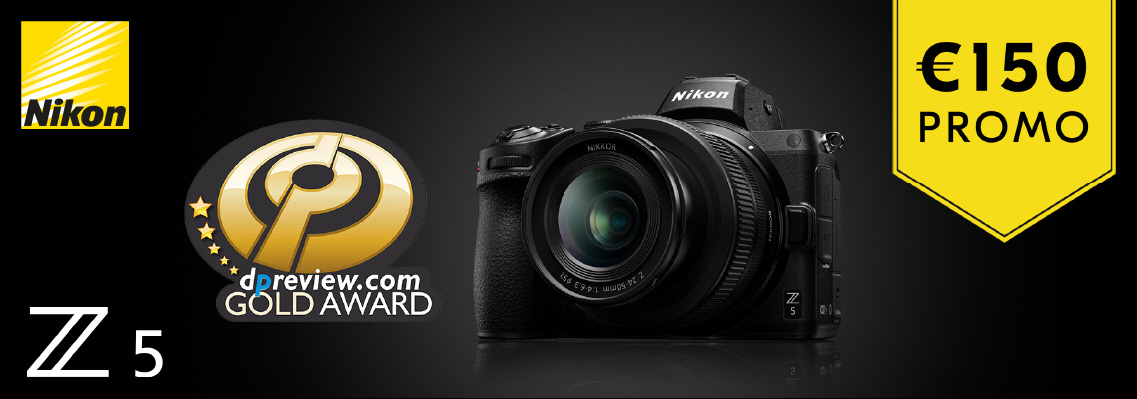 Nikon Z5 promotie korting