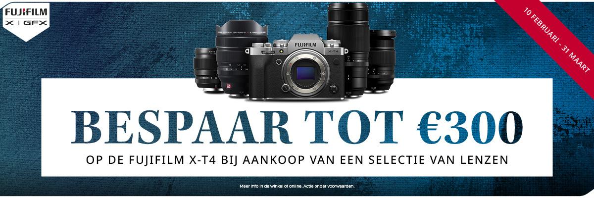 Fujifilm X-T4 promotie