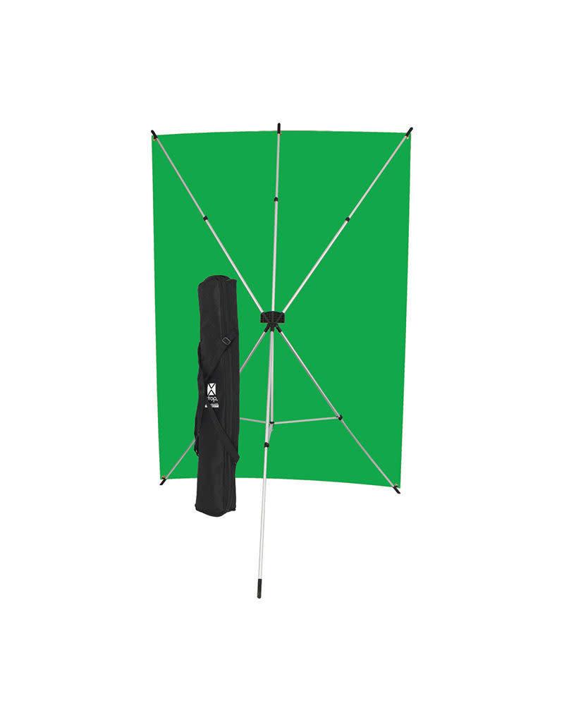 Westcott Westcott Green Screen X-Drop Backdrop Kit