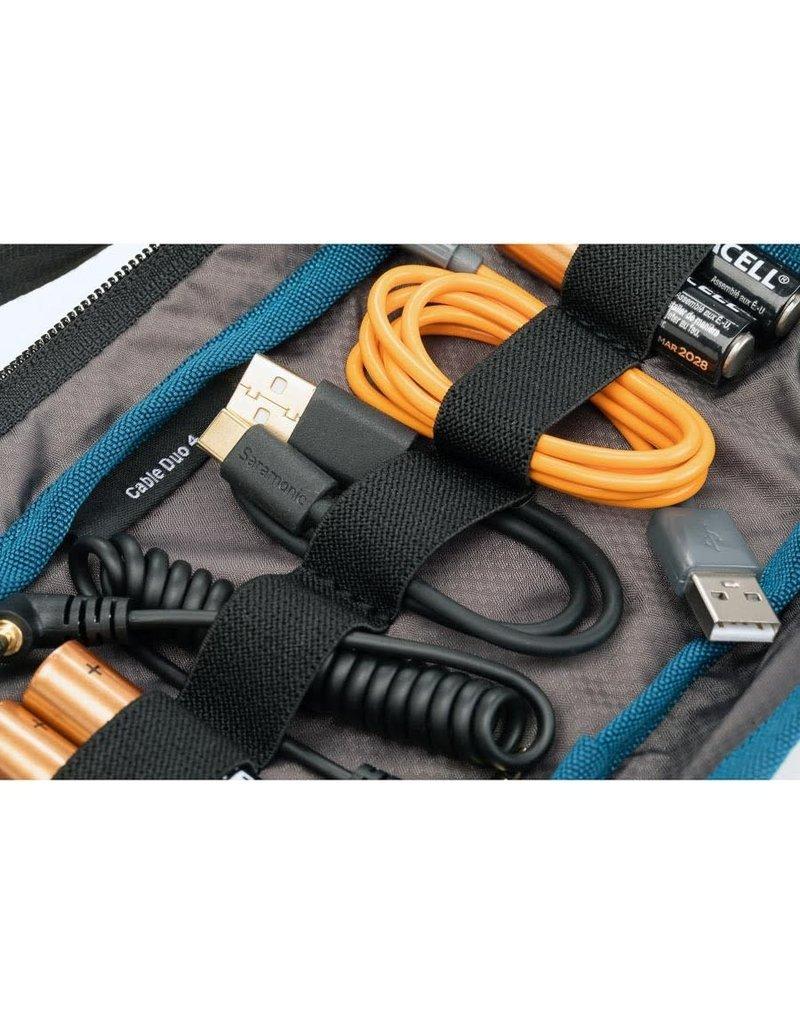 Tenba Tenba Cable Duo 4 - Cable Pouch - Black - 636-643