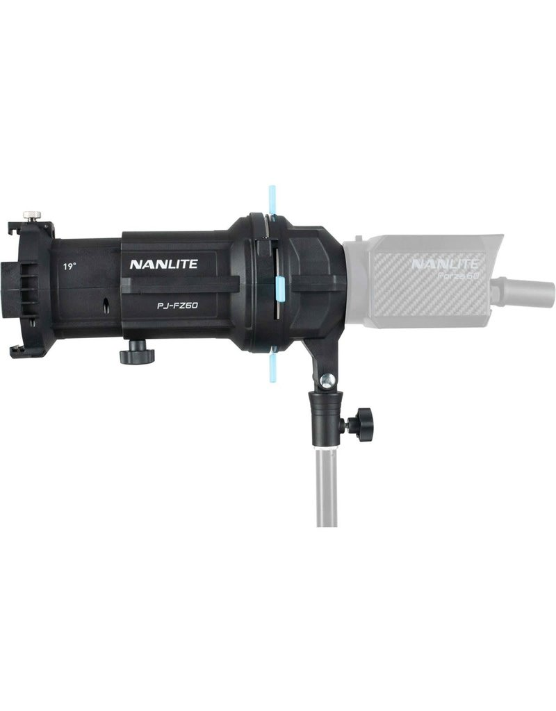 Nanlite Nanlite Projection Attachment mount for FZ-60   (w/ 19 degree lens)