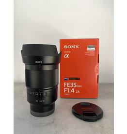 Sony 2dehands Sony FE Distagon T* 35mm f/1.4 ZA