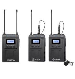 Boya Boya UHF Duo Lavalier Microfoon Draadloos BY-WM8 Pro-K2