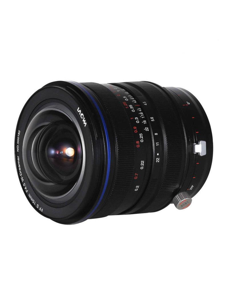 Laowa Laowa Venus 15mm f/4.5 Zero-D Shift Lens - Sony FE
