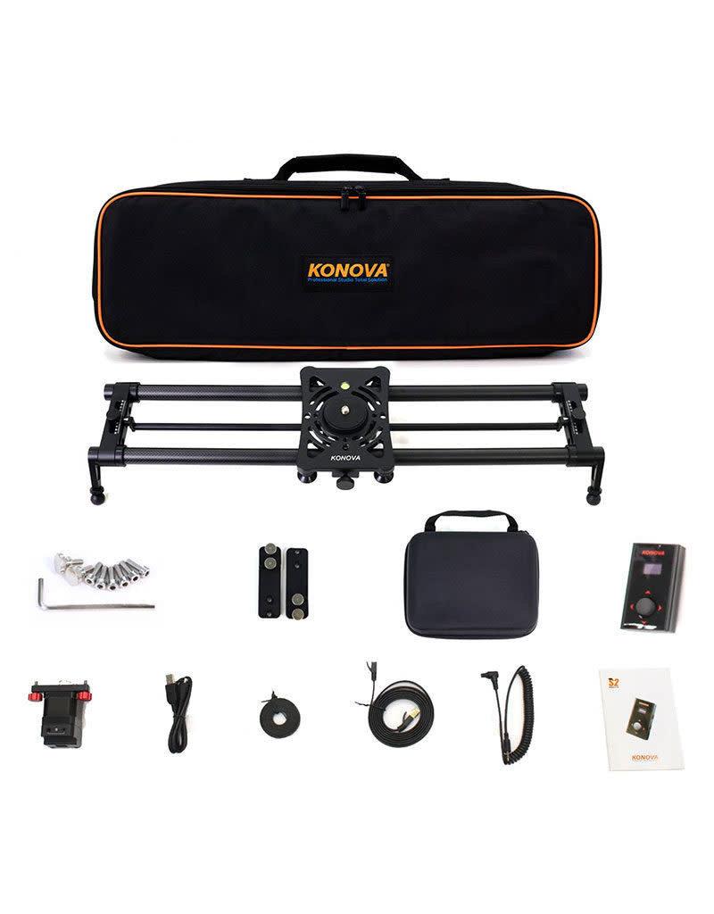 Konova Konova P1 120cm Carbon Camera Slider (w/ KMS-S2)