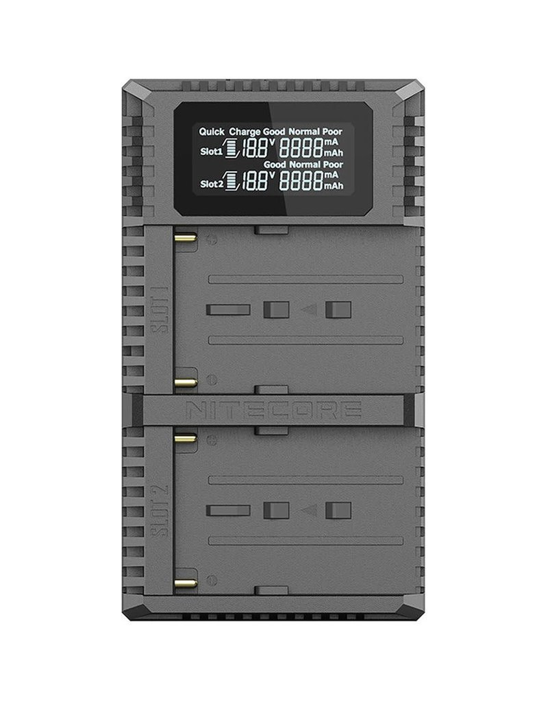 Nitecore Nitecore USN3 Pro Dubbel Lader voor Sony NP-F Serie