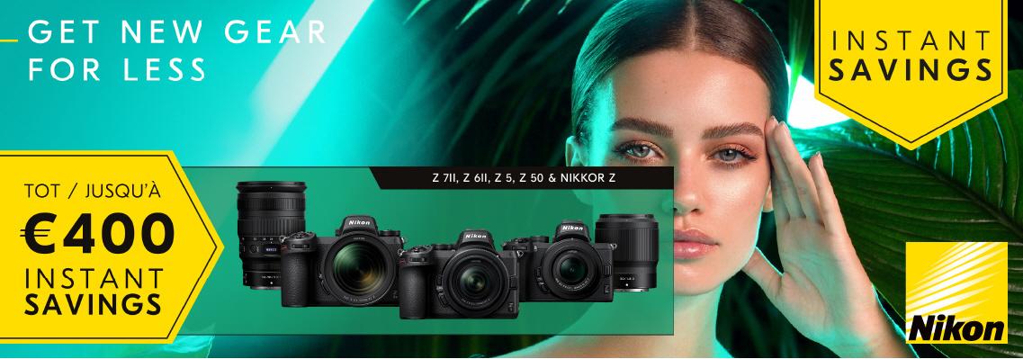 Nikon Zomer Korting Promotie