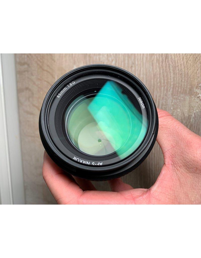 Nikon 2dehands Nikon AF-S 85mm 1.8G