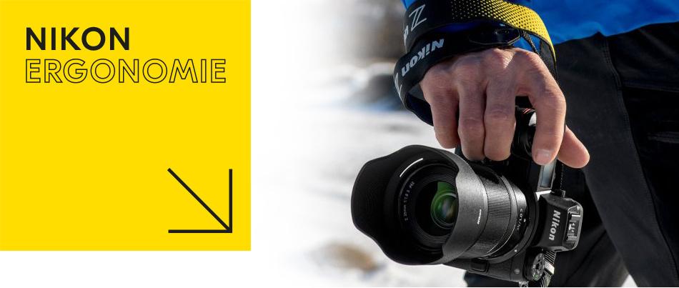 Nikon ergonomie