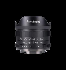 7Artisans 7Artisans 7.5mm F2.8 MKII Fuji (FX Mount)