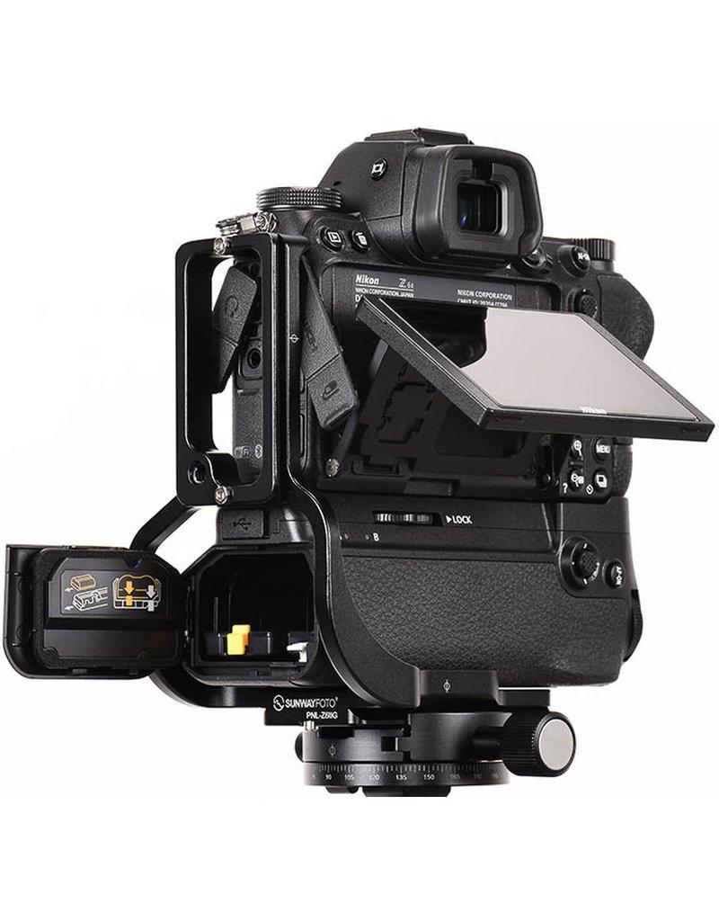Sunwayfoto Sunwayfoto L-Plate for Nikon Z6II/Z7II incl. grip (PNLZ6IIG)