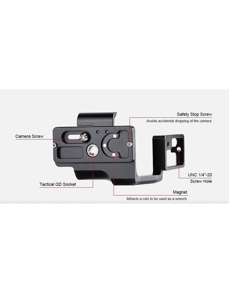 Sunwayfoto Sunwayfoto L-Plate for Sony A7RIV incl. grip (PSL-A7RIVG)