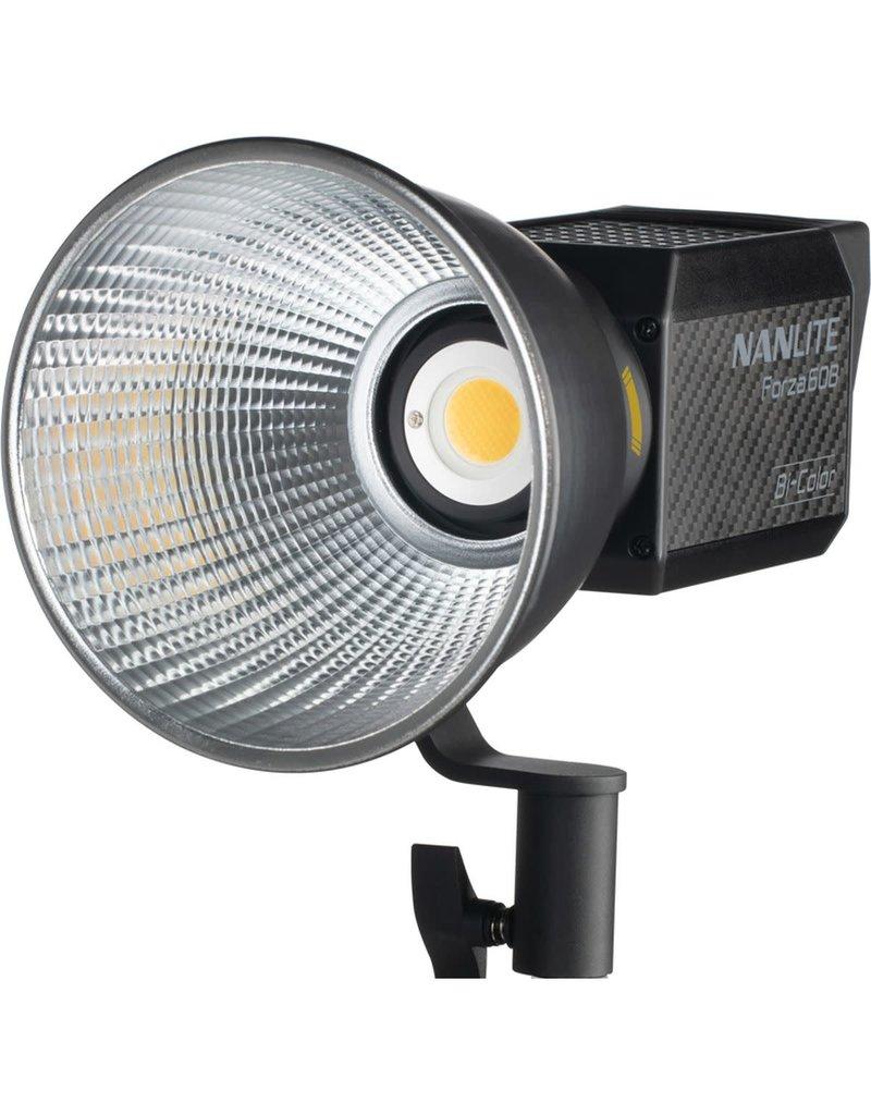 Nanlite Nanlite Forza 60B Bi-color LED Light + Battery Grip + Bowens adapter