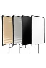 Bresser Bresser C-Stand Flag Panel 4-Color+Diffuse 75x90cm
