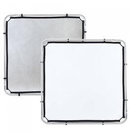 Lastolite Lastolite Skylite rapid fabric small 110x110cm silver/white