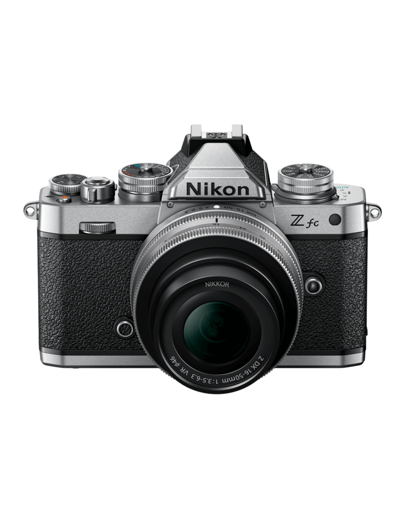 Nikon Nikon Z fc + 16-50 VR zilver
