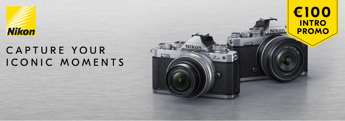 NIEUW: Nikon Z fc nu met intro korting!