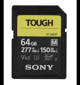 Sony Sony SDXC 64GB UHS-II SF-M Tough R277/W150 MB/s