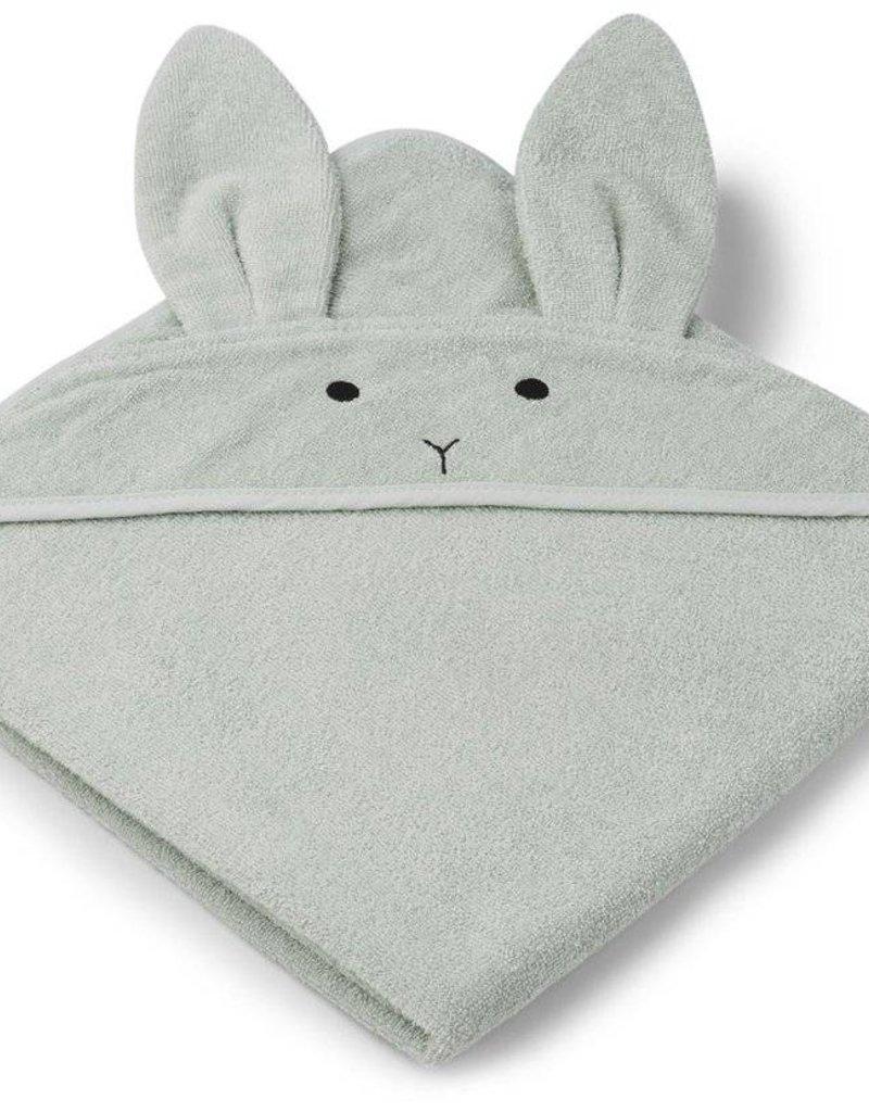 Liewood Liewood Badcape Augusta Rabbit dusty mint