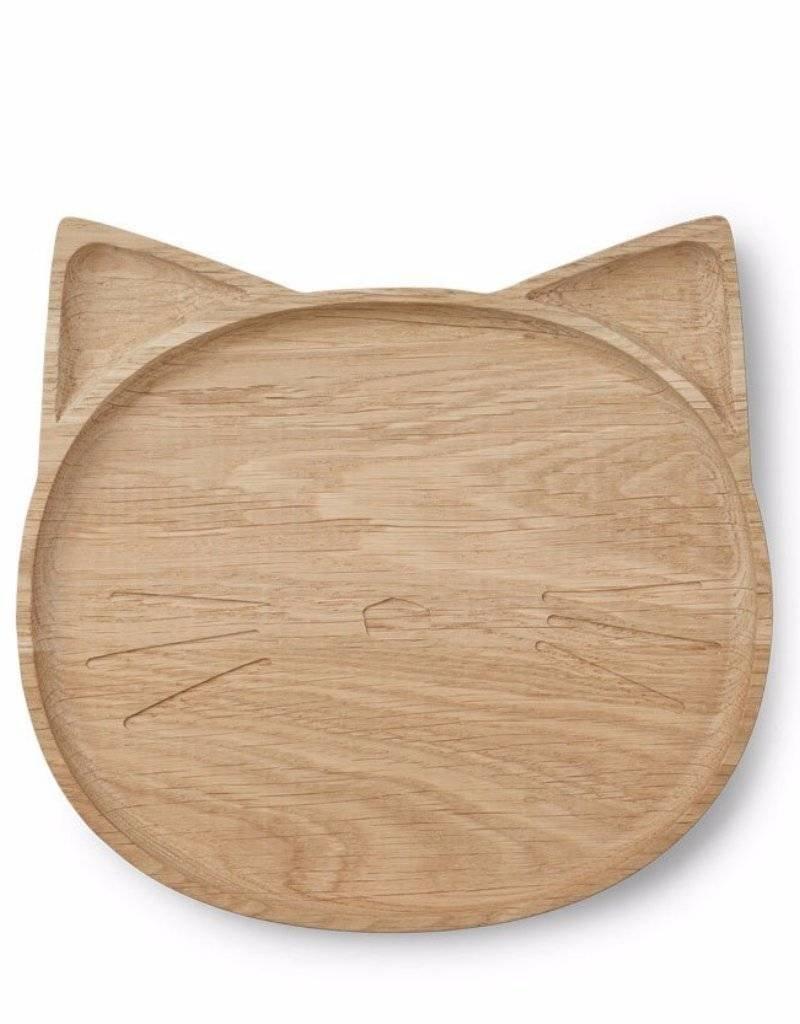Liewood Liewood Conrad Houten bord  Cat