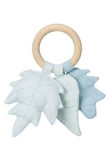 CamCam CamCam Rattle Leaves blauw