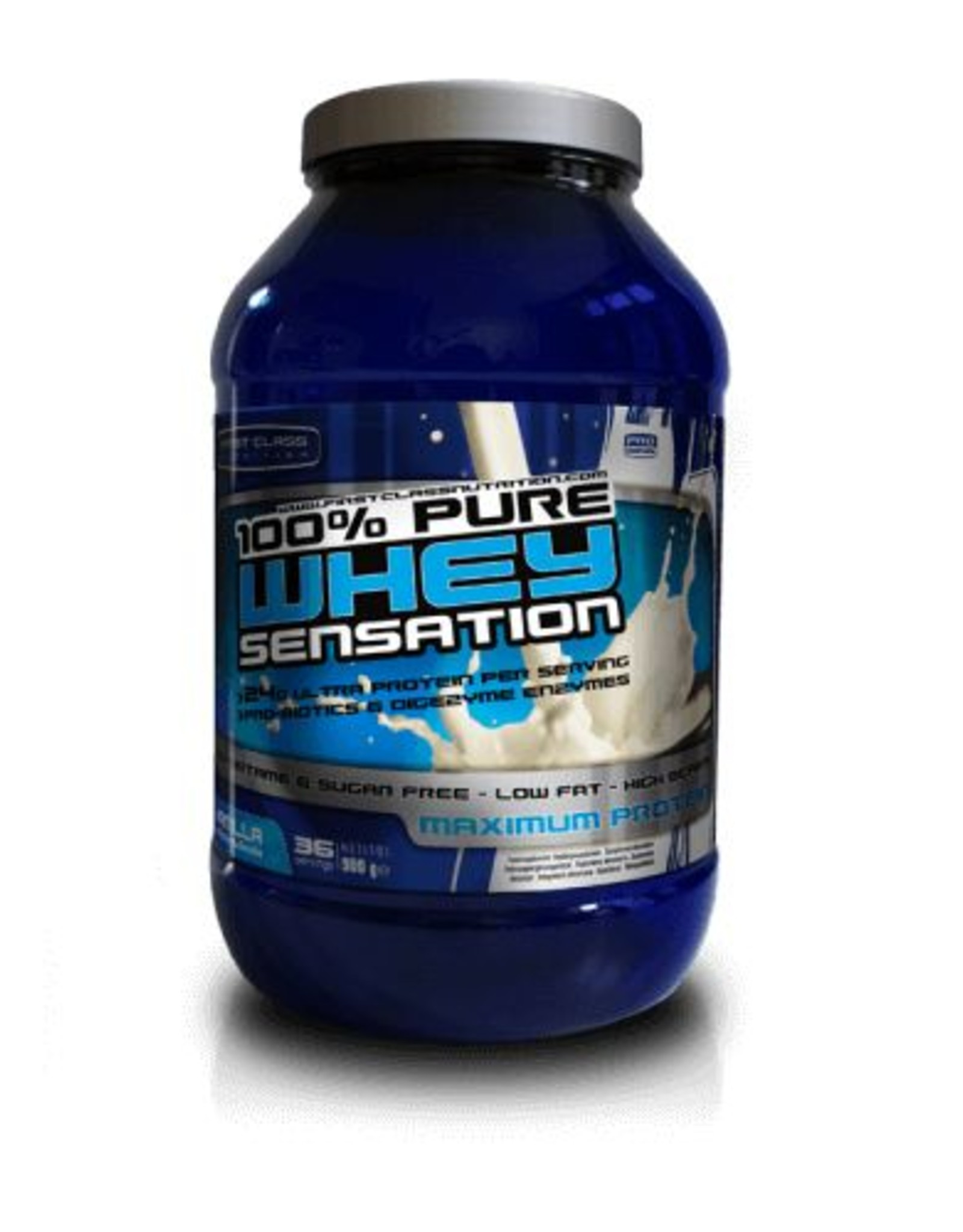 First class nutrition Whey sensation vanilla