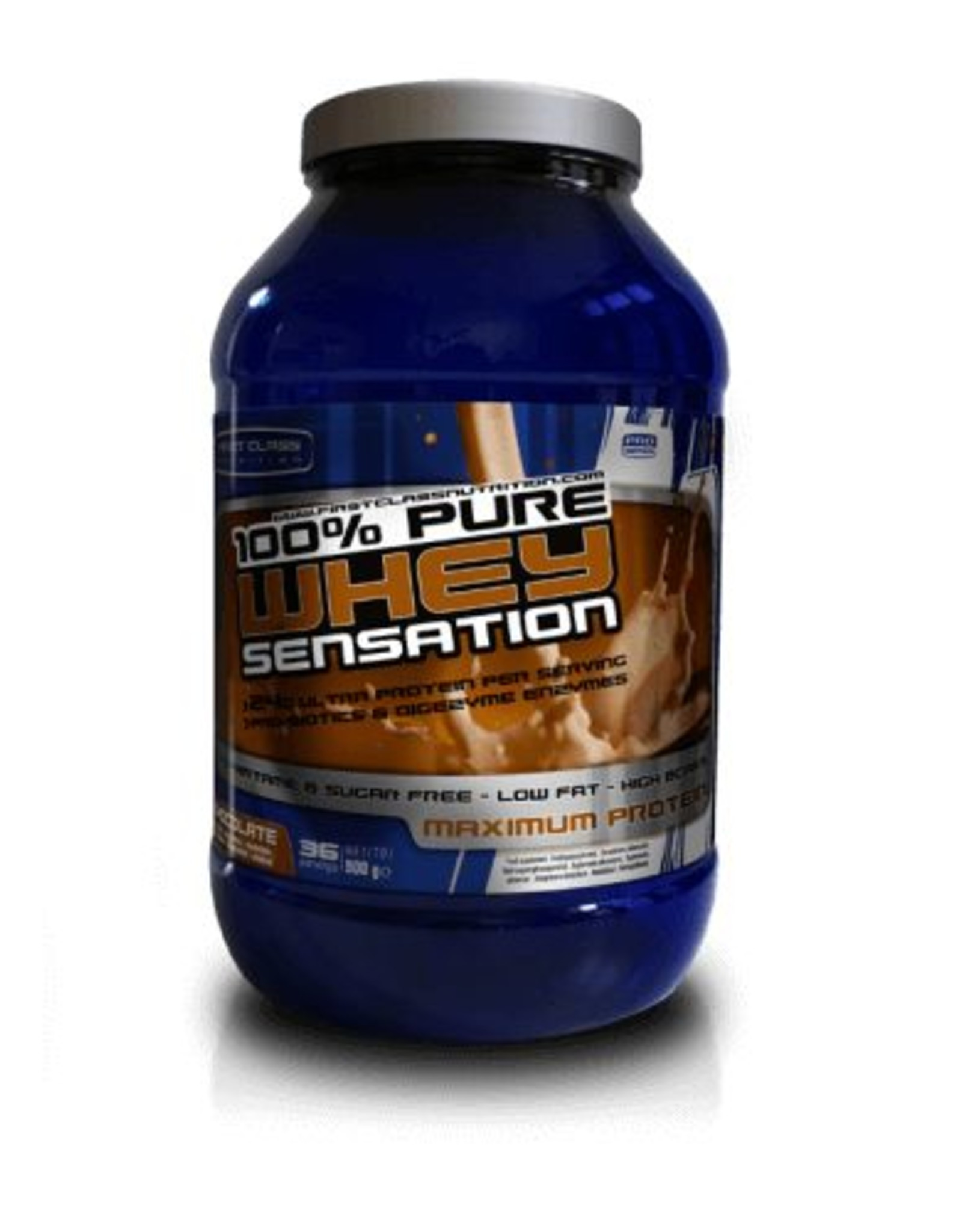 First class nutrition Whey sensation chocolade