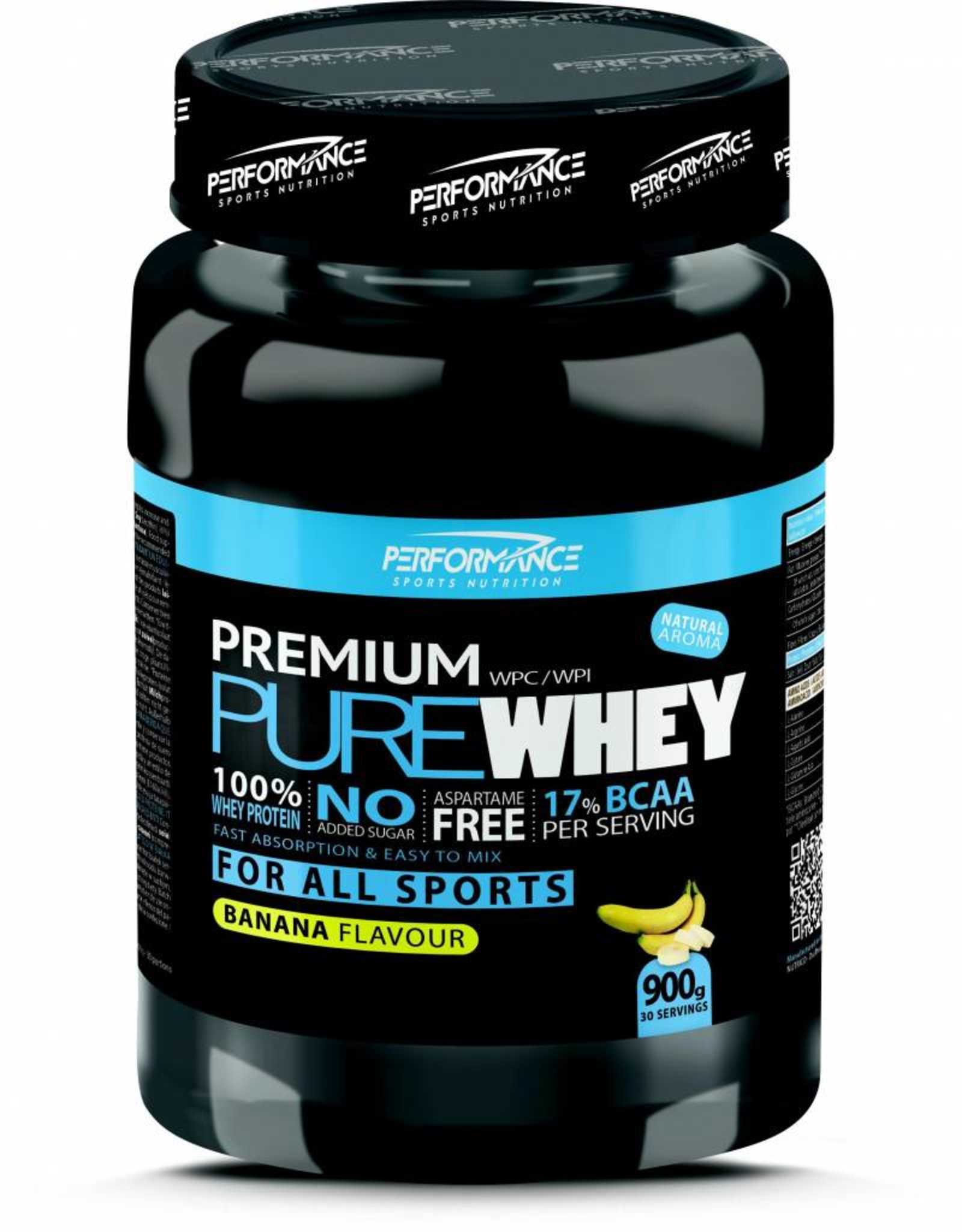 Performance Premium pure whey banana