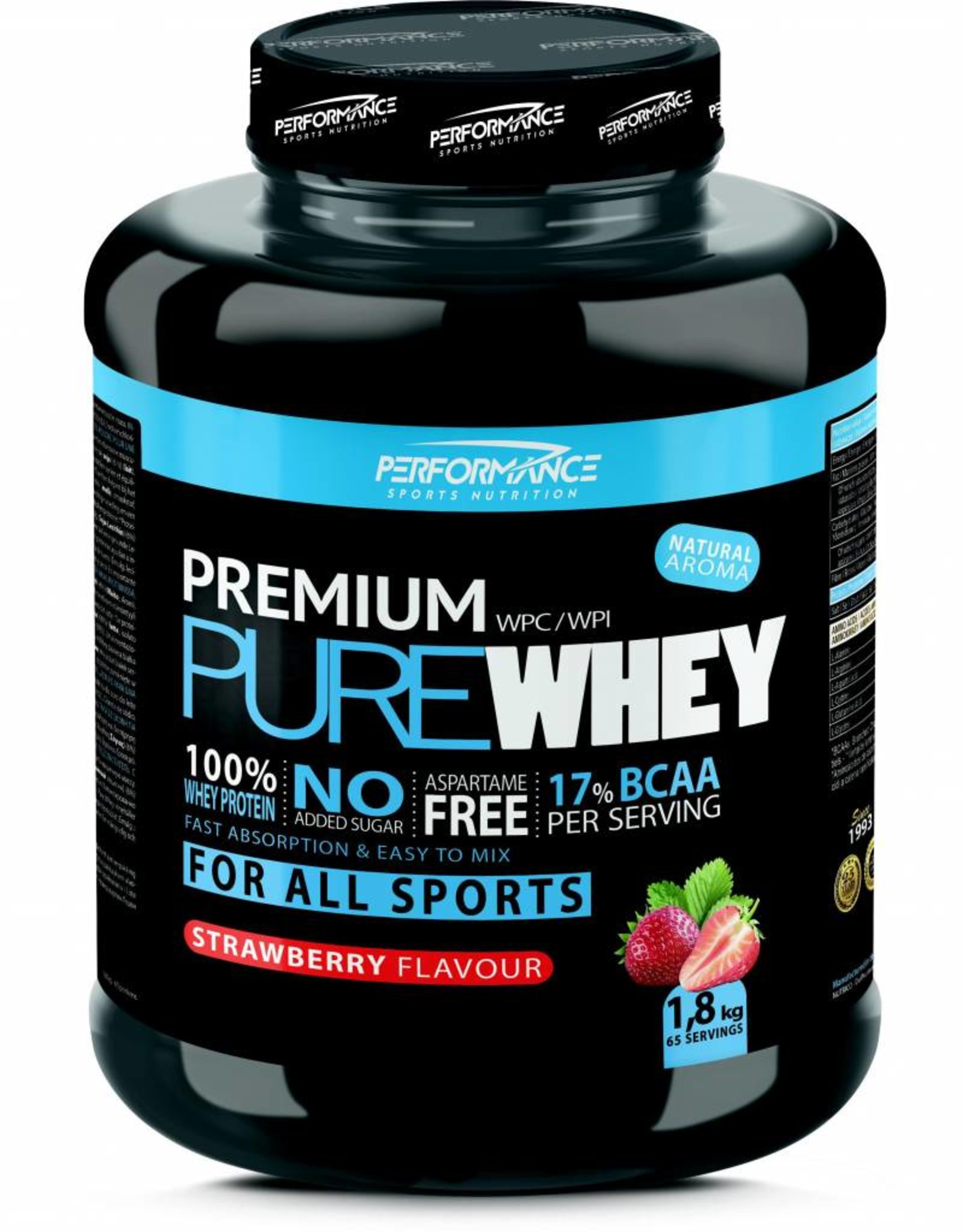 Performance Premium pure whey strawberry