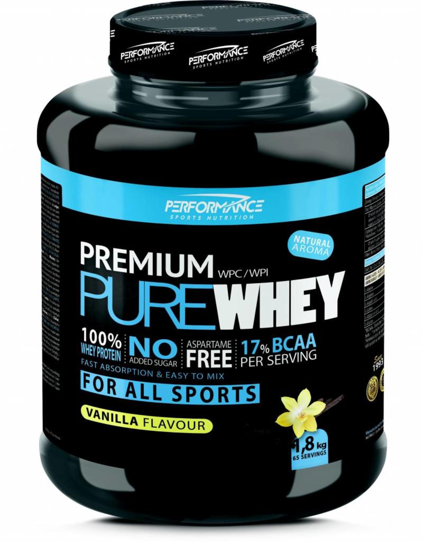 Performance Premium pure whey vanilla