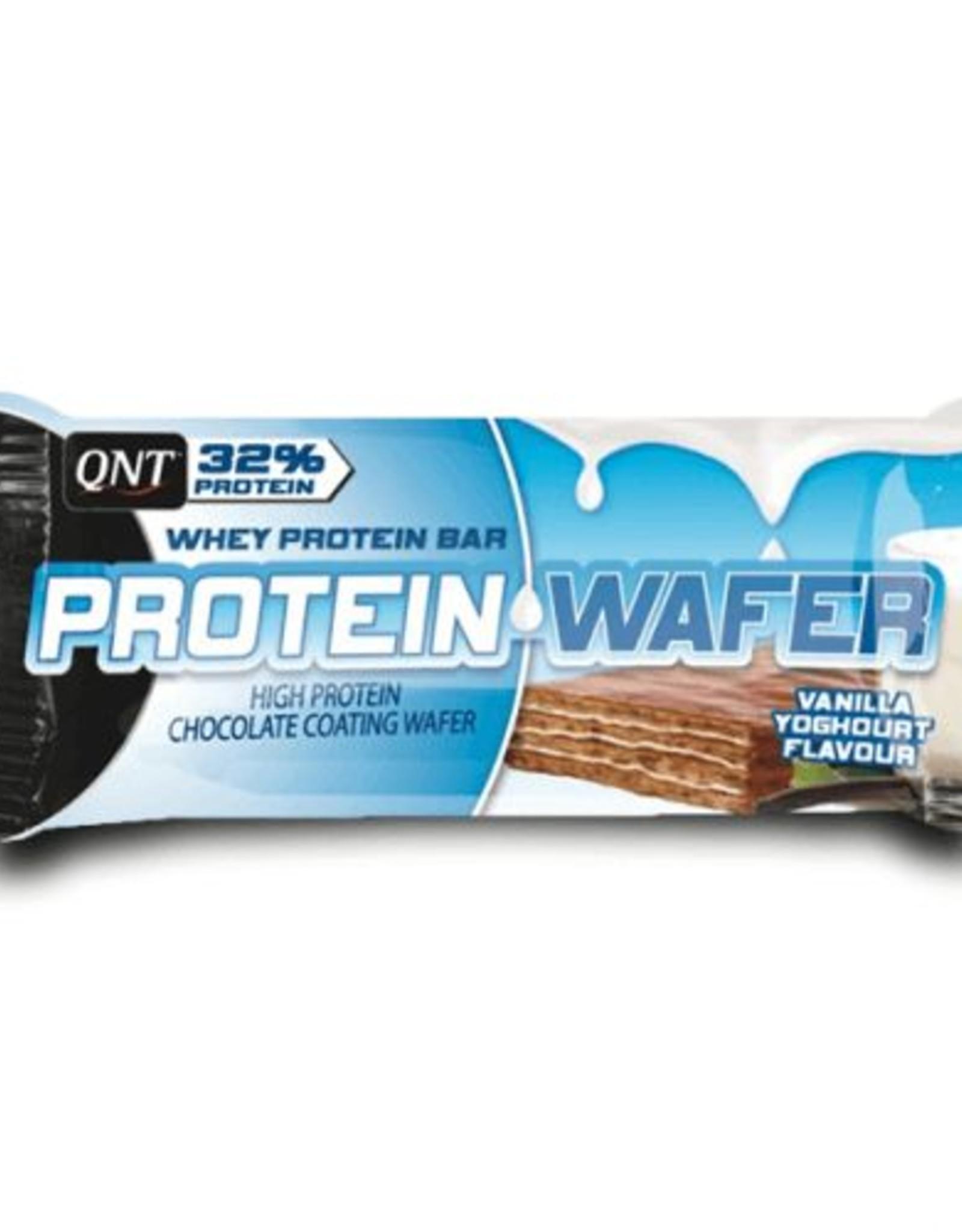 Qnt  Protein wafer vanille-yohurt 12 stuks