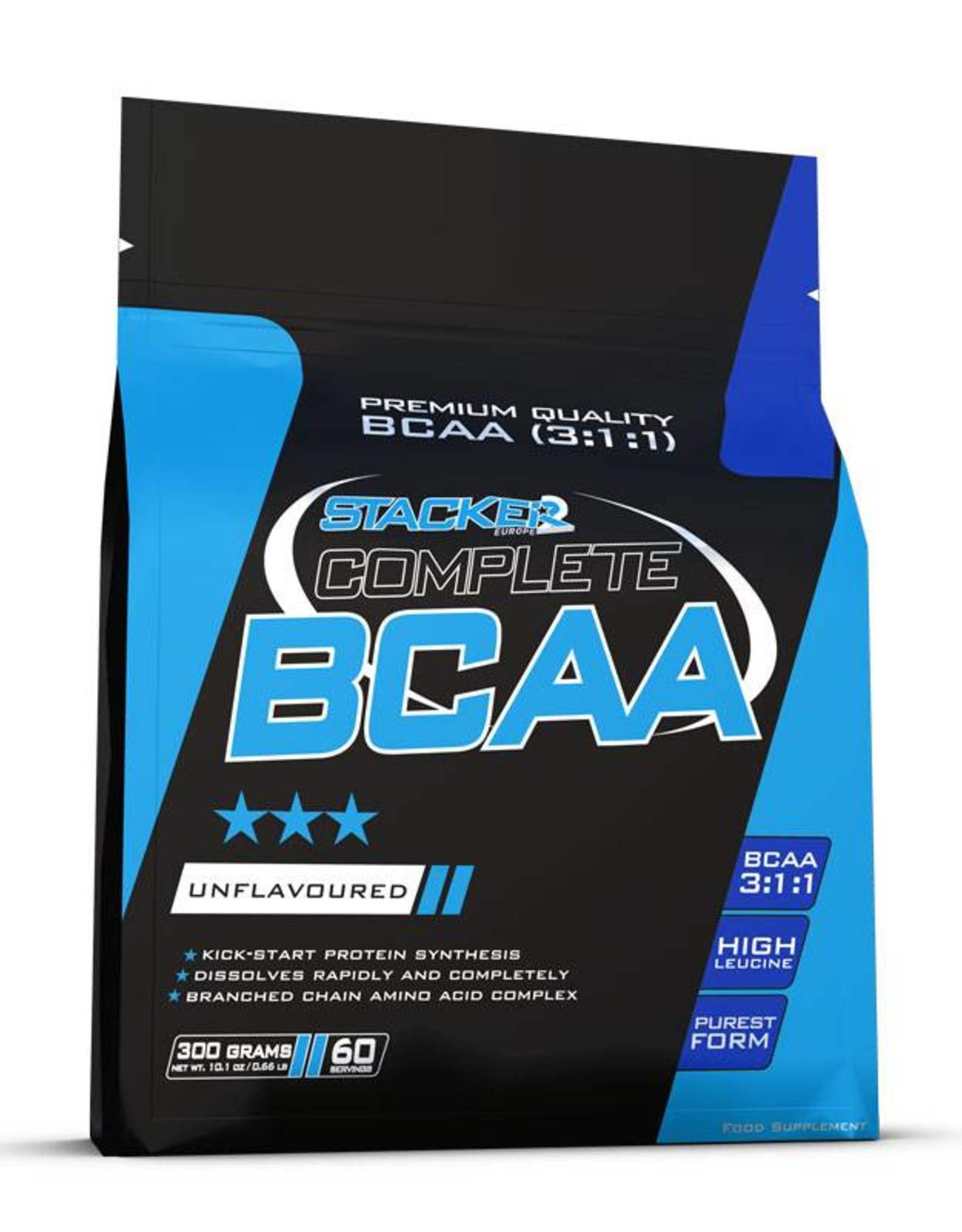 Stacker2  Complete bcaa 3:1:1 (smaakloos- 300 gram)