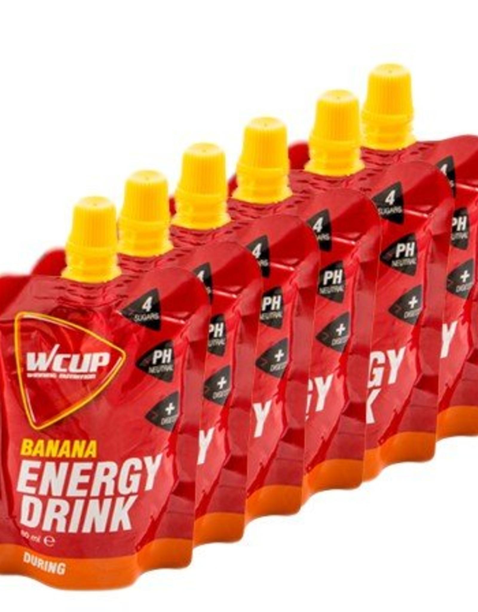 Wcup  Wcup energie drink banaan (6*80 ml)