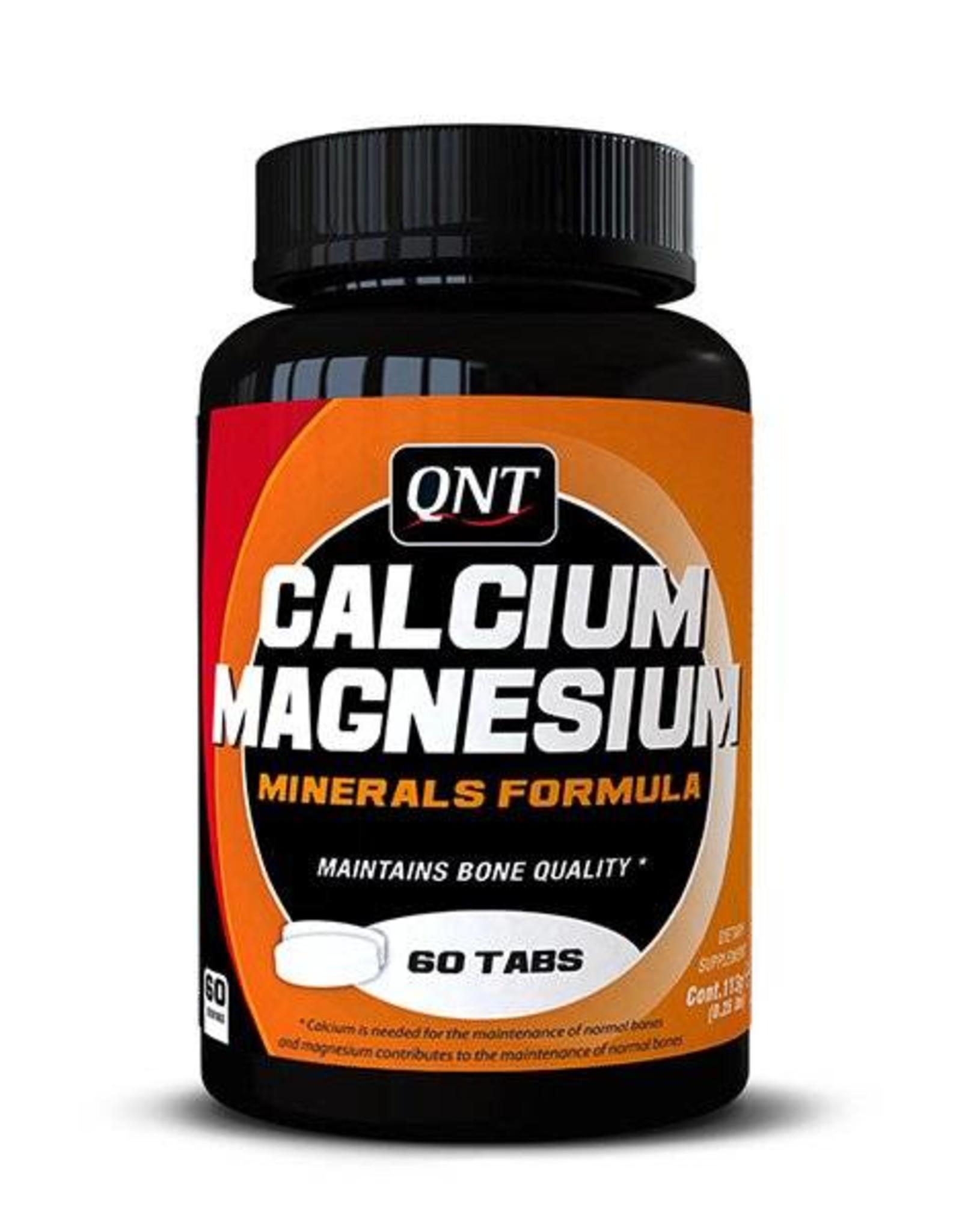 Qnt  Calcium & magnesium 60 tabletten