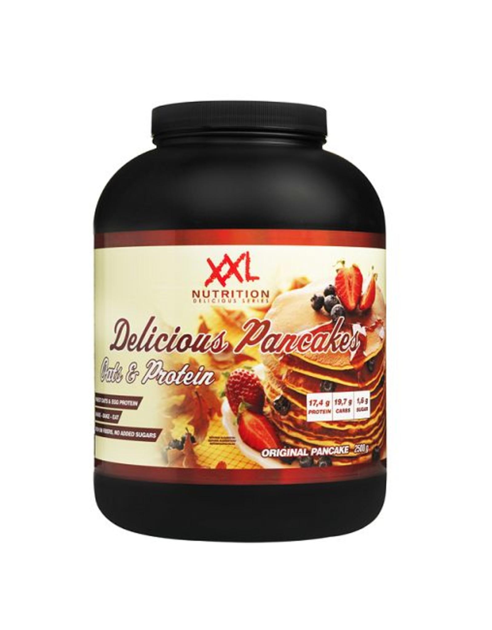 XXL nutrition Pancakes stevia vanille 1000 gram