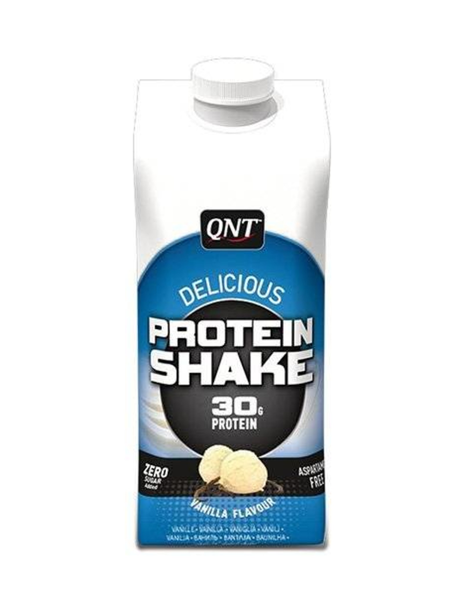 Qnt  Delicious protein shake vanille (12  * 330 ml)