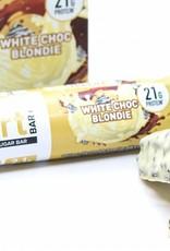 Smart bar white chocolate blondie