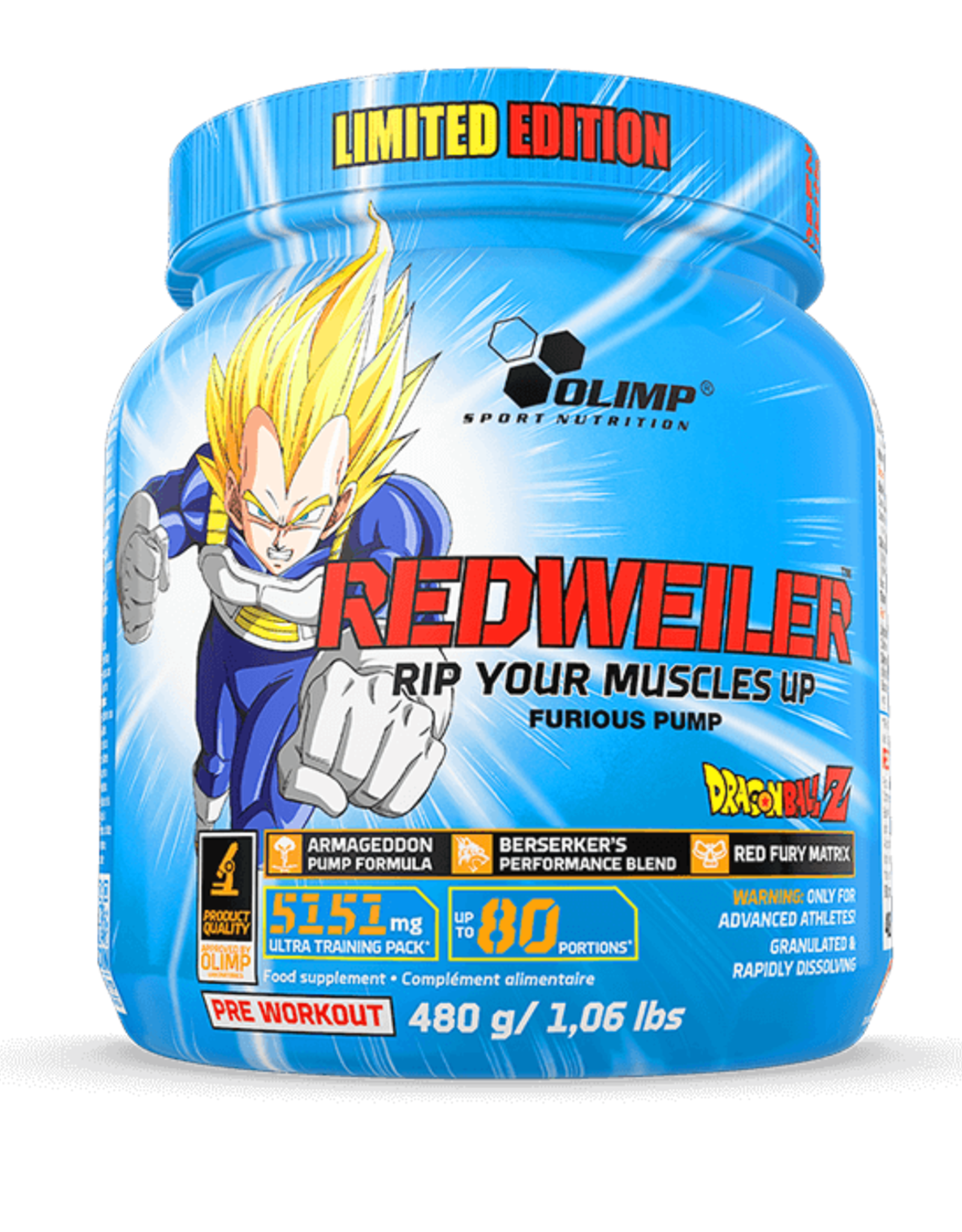 Olimp  Redweiler 480 gram (80 servings)