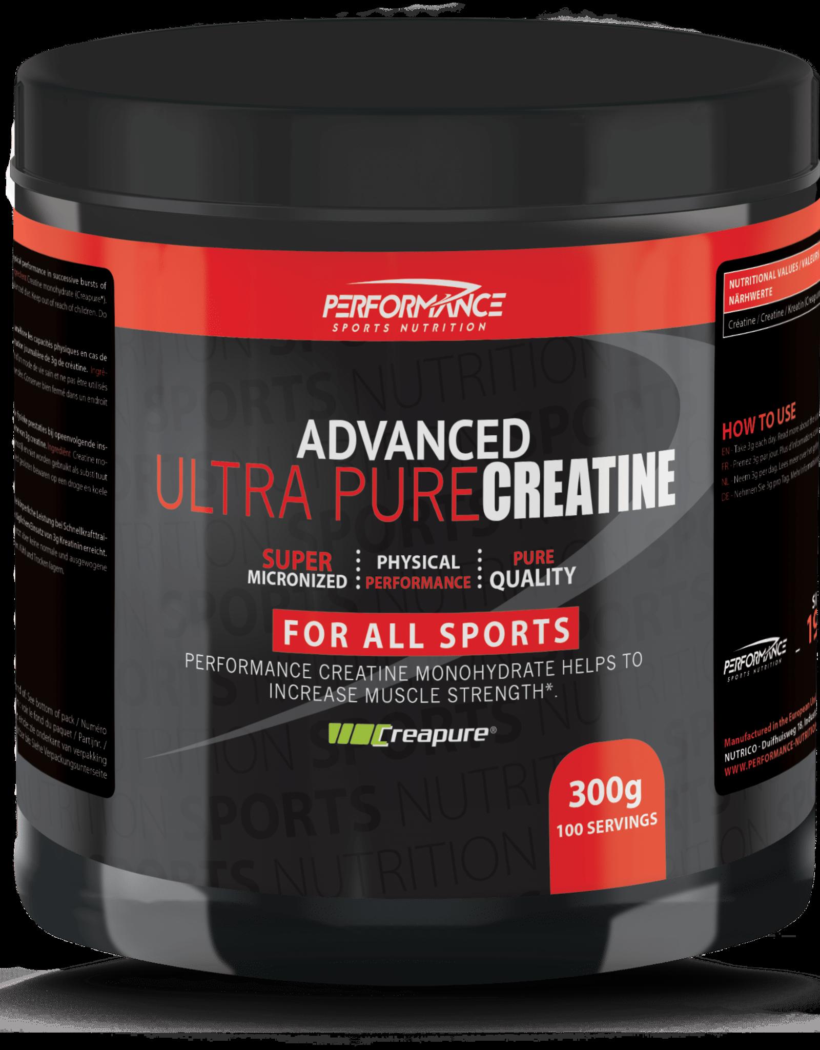 Performance Ultra pure creatine (300 gram)