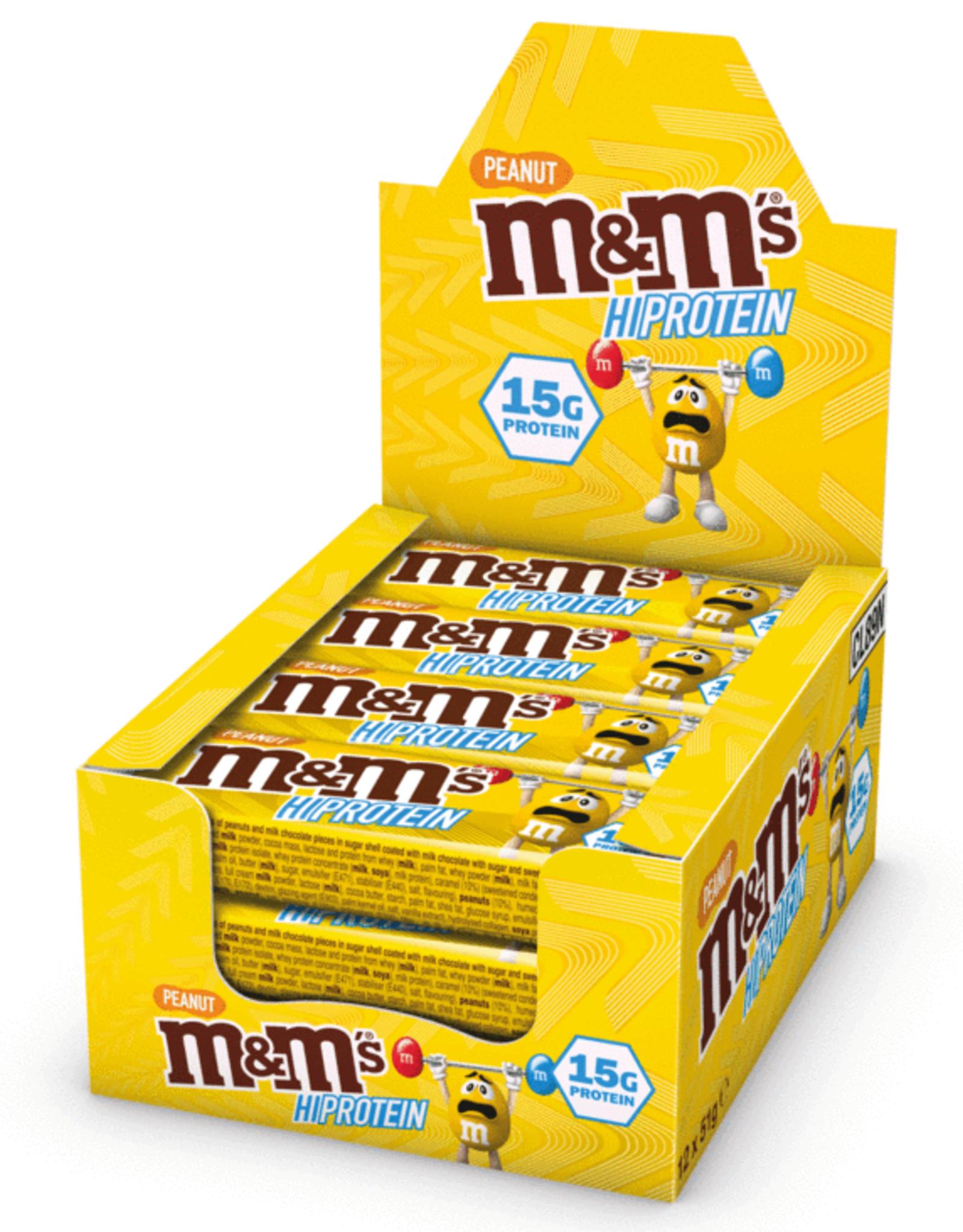 Mars M&M Hi Protein bar